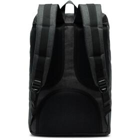Herschel Little America Mid-Volume Backpack 17L, black crosshatch/black